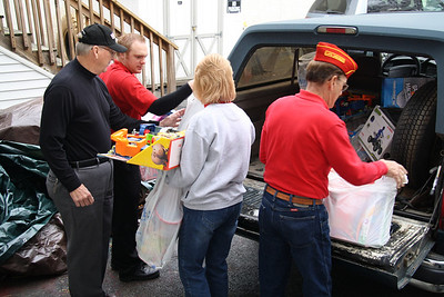 Toys For Tots and Food Distribution, Salvation Army, Tamaqua (12-22-2011)