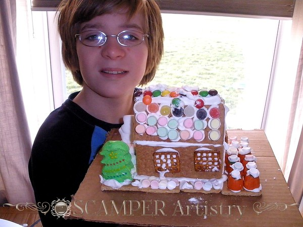 """Gingerbread"" Houses"
