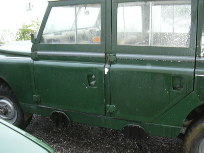 "Land Rover 1967 Series IIa 109"" SW"