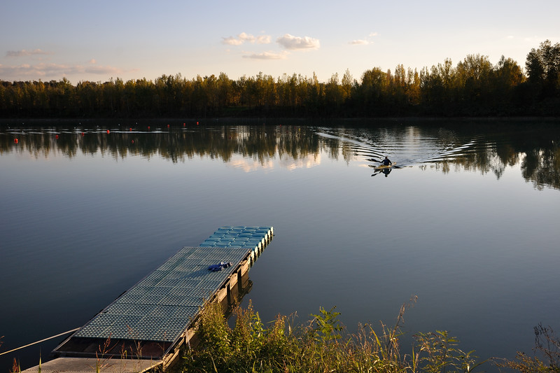 Secchia river detention basin (Casse di espansione del Secchia) - Campogalliano, Modena, Italy - October 29, 2012