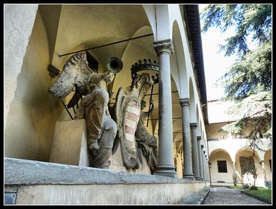 Florence - Piazza Santa Maria Maggiore, Piazza San Pier Maggiore