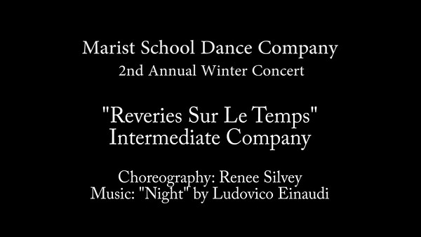 Reveries Sur Le Temps by Intermediate Company - Marist 2016.mp4