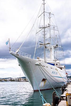 2016 Windstar Cruises James Beard Foundation Culinary Cruise aboard Wind Surf