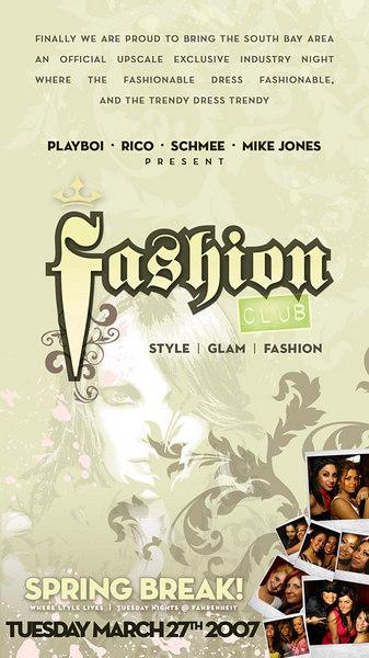 Fashion Club @ Fahrenheit 3.27.07