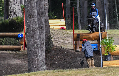 Lizzy Knight, Vixen and Friends at ASPEN FARMS Fall Horse Trials September 2018