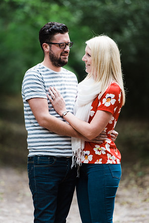 Charlotte and Andy Engagement Images