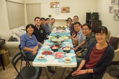 2017-11-03 Friday Special Talk + Hot Pot