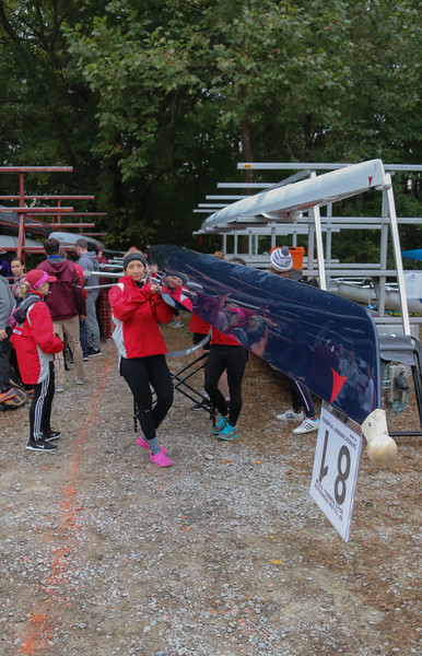 CUA Rowing; Occoquan Chase; 14 Oct 18