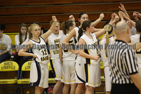 NR Girls Basketball vs Parma 01/11/12
