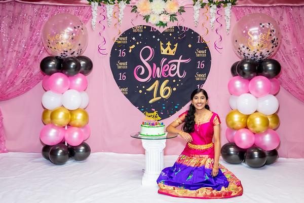 Sriyuktha turning Sweet Sixteen