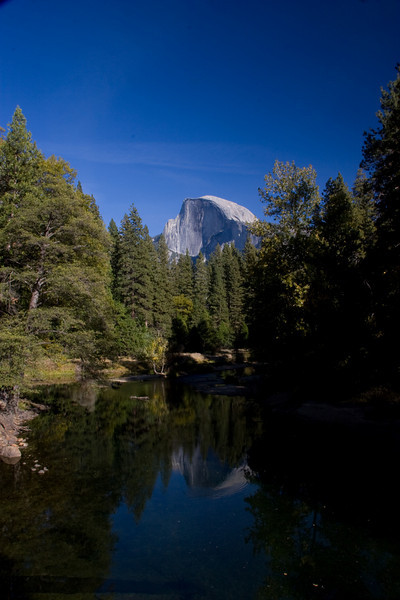 Half Dome from Sentinal Bridge,