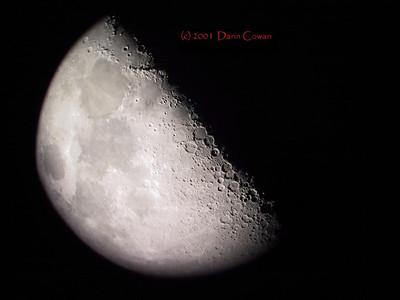Moon - April 2001