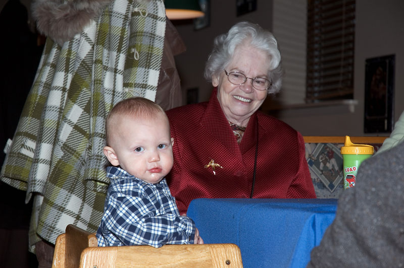 Grandmother Tolli with great-grandson Clayton   (Dec 03, 2005, 09:42pm)