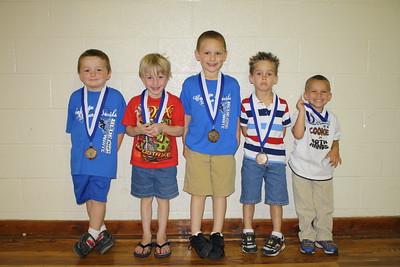Georgia Steed Abell Award Winners 2010-2011