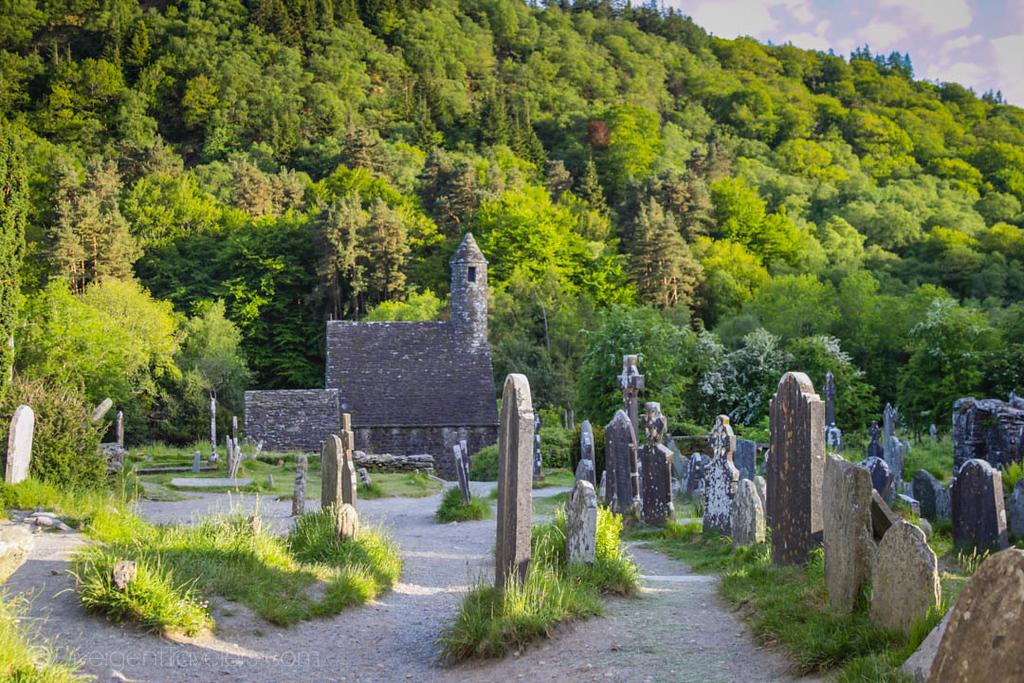 best day trips from Dublin - Glendalough - Lina Stock