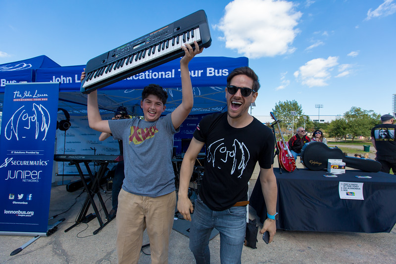 2016_10_15, Brooklyn, NY, Smorgasburg, Matthew Reich, Yamaha, Giveaways