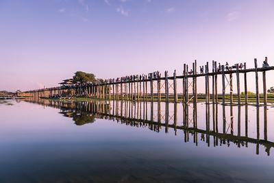 Mandalay, U Bein bridge