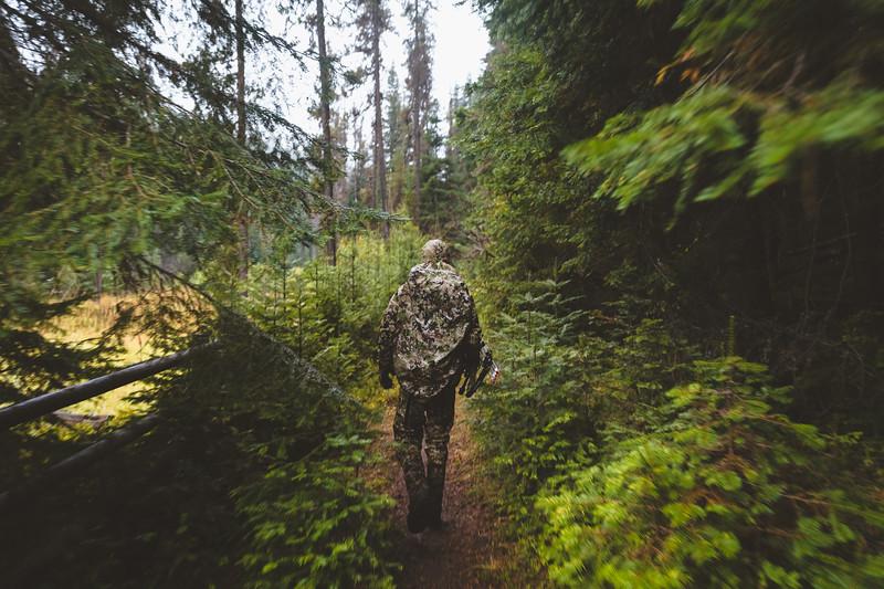 Austin Heinrich (no IG) headed into Idaho's elk country. September 2017
