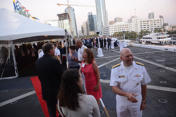 Fleet Week San Diego - Anchorage Reception