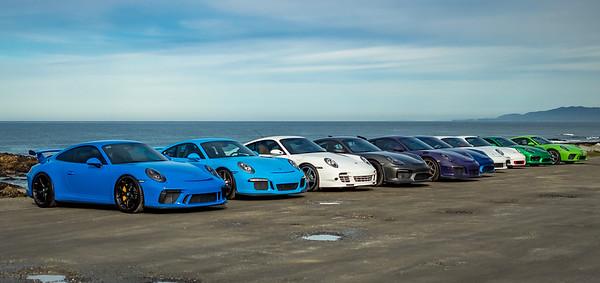 2020-01-18 South Bay Porsche GT Drive