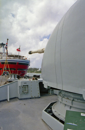 HMS Norfolk Nassau Harbour April 2000