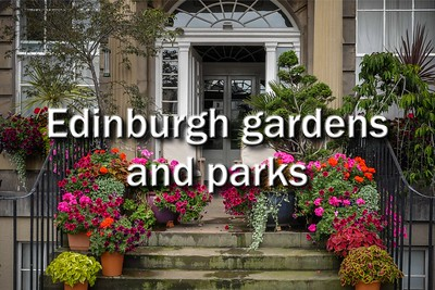 Edinburgh gardens and parks