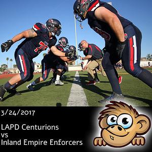 2017-03-24 LAPD Centurions vs Inland Empire Enforcers
