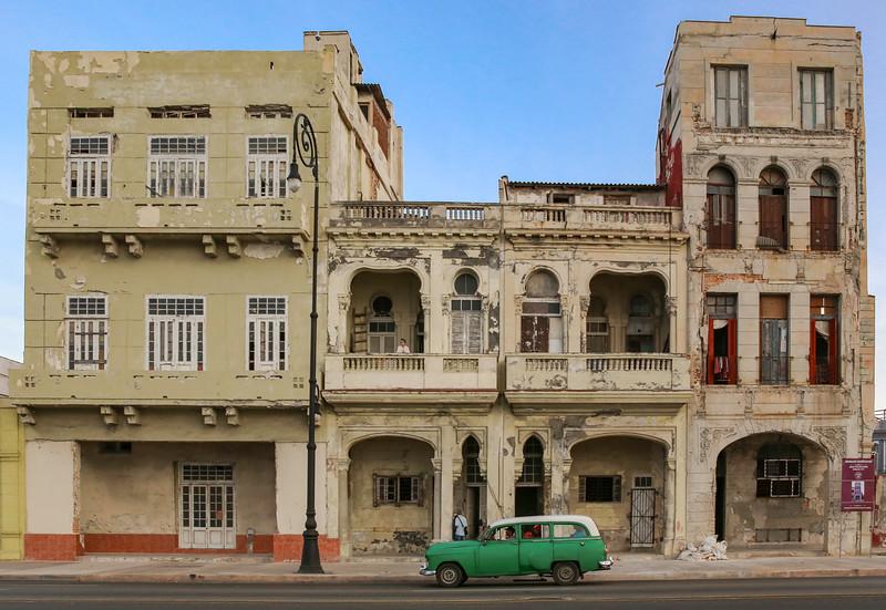 Classic Cars on the Havana Malecon 5