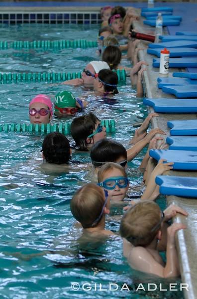 swim team, feb 26