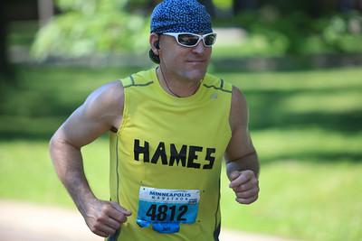 Minneapolis Marathon Mile 22