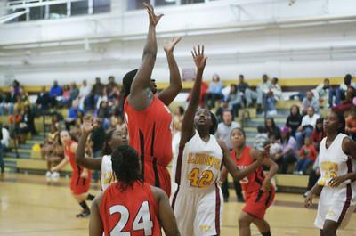 2009/12/08 BHS Girls Basketball - Butler @ West Charlotte