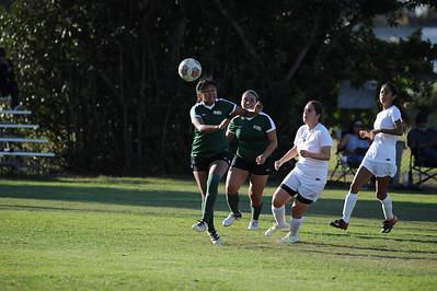Soccer, Women's v. Fullerton College