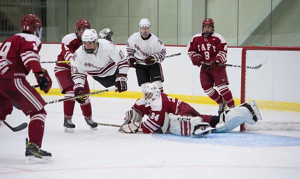 11/29/17: Boys' Varsity Hockey v Salisbury