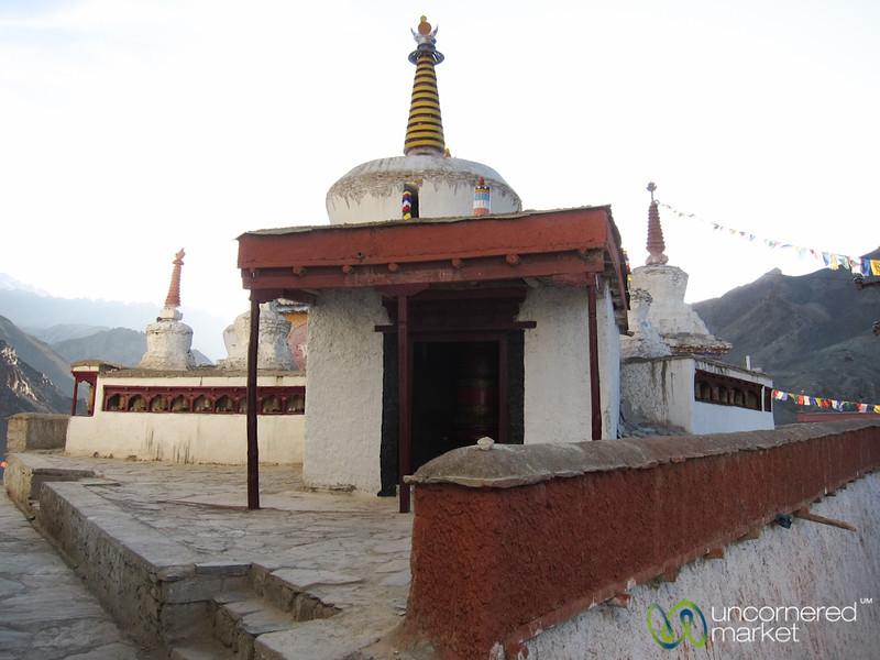 Lamayuru Monastery, Chortens - Ladakh, India