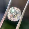 4.11ct Antique Cushion Cut Diamond, GIA N VS1 18