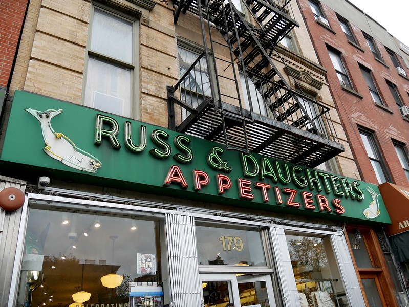 New York institution, my first time though