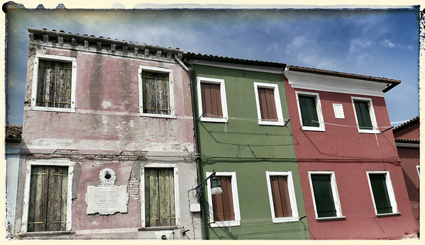 Burano, July 2014 - Monday