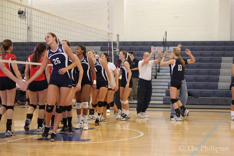 Girls Volleyball vs. Central Catholic 9/16/14