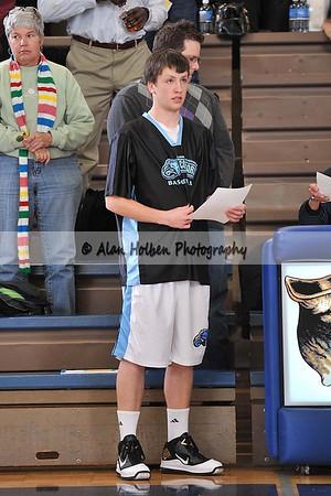 Boys Varsity Basketball - Okemos at Lansing Cathollic - Dec 14