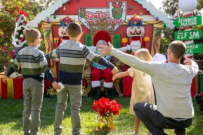 Del Sur Saturday Santa 2020