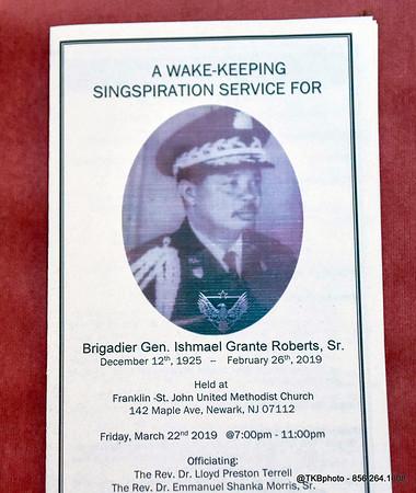 Wake Keeping - Brigadier General Ishmael Grante Roberts Sr