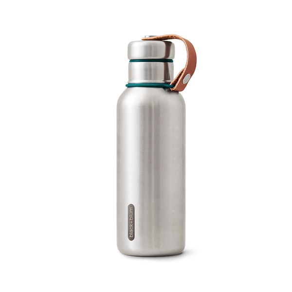 Insulated Water Bottle ocean Black Blum