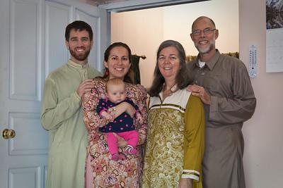 Mom & Dad Douglass visit (Dec 2011)