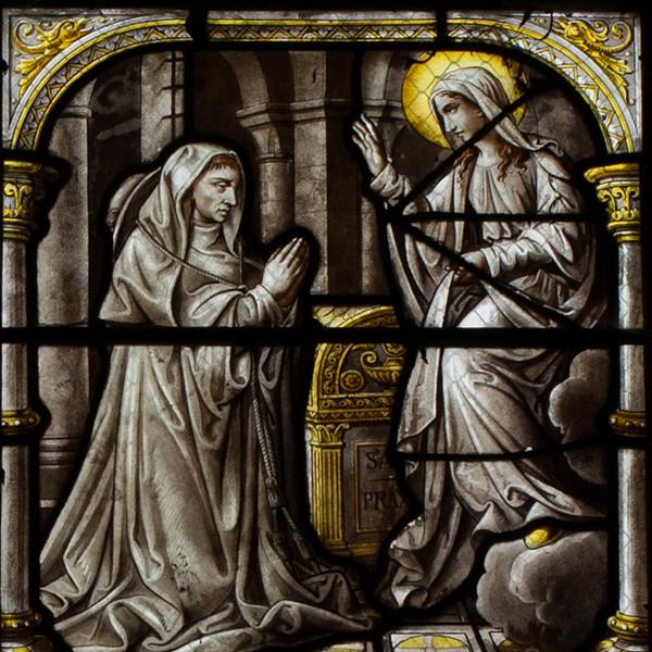 Troyes Saint-Urbain Basilica Saint-Bernard and the Virgin