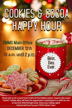 Staff Holiday Treats and Festive Wear 12.12.19