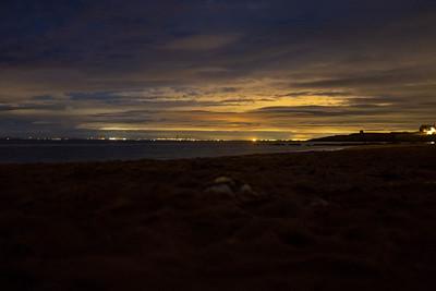 Elie Beach Night