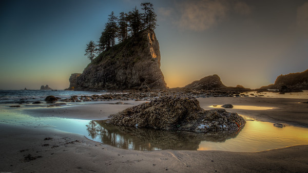 Pacific North West peninsula