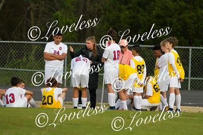 Boys Soccer vs Central Magnet 4/10/18
