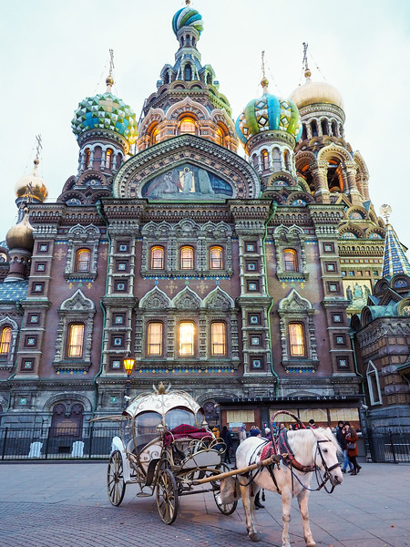 Church of Our Savior on the Spilled Blood in St. Petersburg