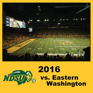 2016 Bison Football - Eastern Washington